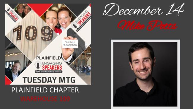 DECEMBER PLAINFIELD - Tuesday 14 - Warehouse 109