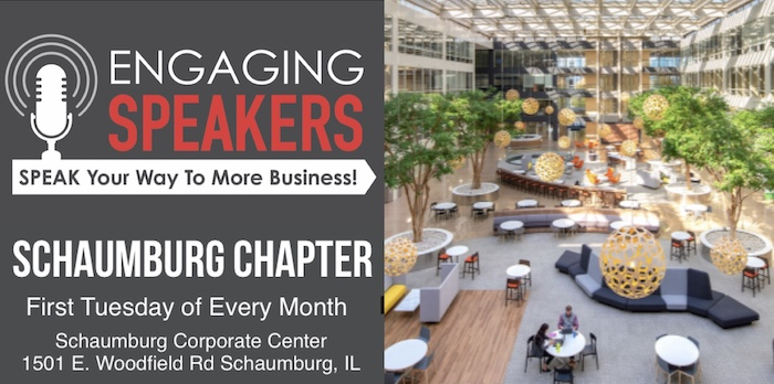 AUGUST SCHAUMBURG CHAPTER MEETING - TUESDAY AUGUST 3