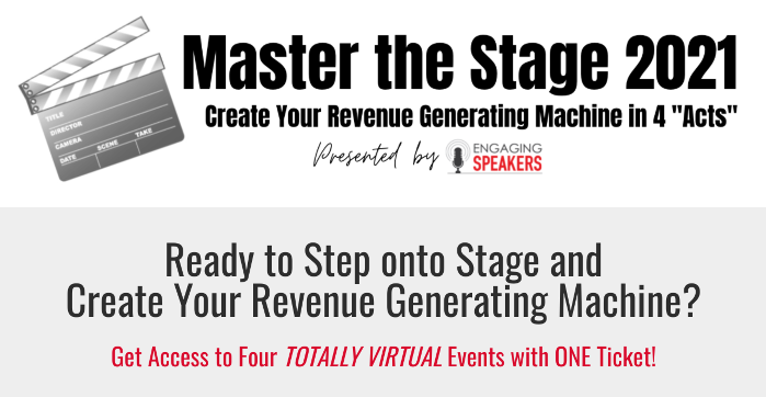 ANNUAL CONFERENCE - September 16-18 www.MasterTheStageEvent.com